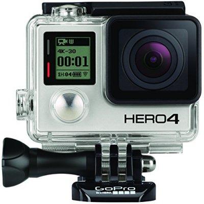 【国内正規品】 GoPro ウェアラブルカメラ HERO4 ブラックエディション アドベンチャー【中古品】