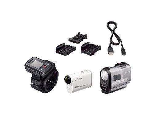 【N】SONY 4Kウェアラブルカメラ X1000VR アクションカム ライブビューリモコンキット【中古品】