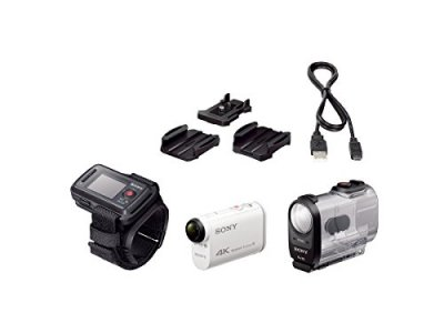 SONY 4Kウェアラブルカメラ X1000VR アクションカム ライブビューリモコンキット【中古品】