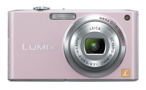 Panasonic デジタルカメラ LUMIX (ルミックス) カクテルピンク DMC-FX33-P【!中古品!】
