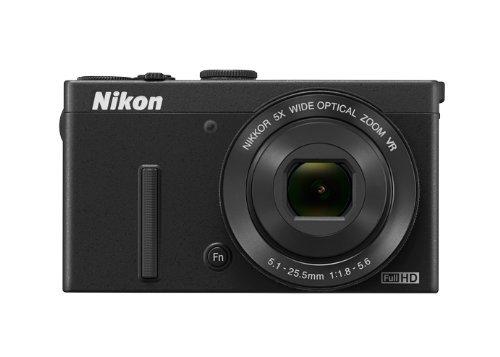 Nikon デジタルカメラ P340 開放F値1.8 1200万画素 ブラック P340BK【中古品】