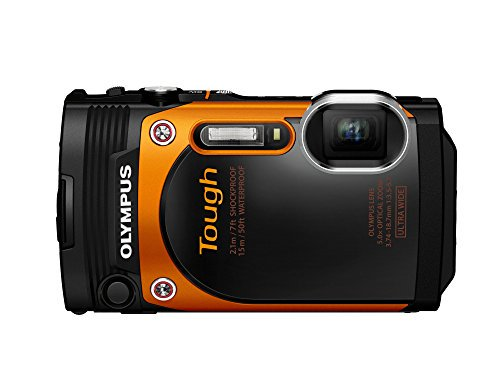 OLYMPUS デジタルカメラ STYLUS TG-860 Tough オレンジ 防水性能15m 可動式液晶モニター TG-860【!中古品…