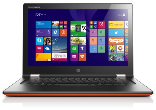 【N】Lenovo ノートパソコン Yoga2 13(Windows 8.1 64bit/Office Home & Business 2013 /13.3型/Core【中古…