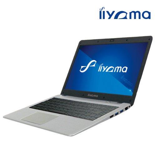【N】iiyama 14S7000-i7-VGM [Windows 7搭載] Core i7 CPU搭載スリム14インチノートPC【中古品】