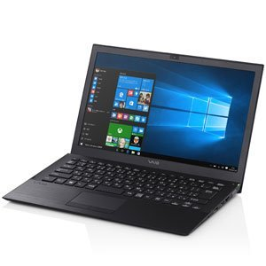 【N】VAIO 13.3型 ノートパソコンVAIO S13 ブラック(Office Home&Business Premium プラス Office 365)【中古…