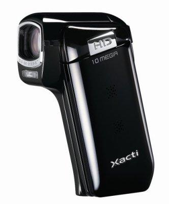 SANYO ハイビジョン デジタルムービーカメラ Xacti (ザクティ) DMX-CG10 ブラック【中古品】