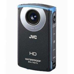 JVCケンウッド JVC HDメモリーカメラ ブルー GC-WP10-A【中古品】
