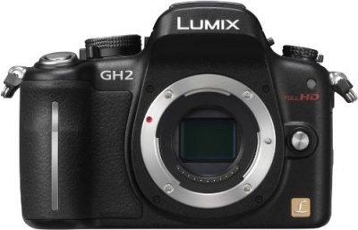 Panasonic デジタル一眼カメラ ルミックス GH2 ボディ 1605万画素 ブラック DMC-GH2-K【中古品】