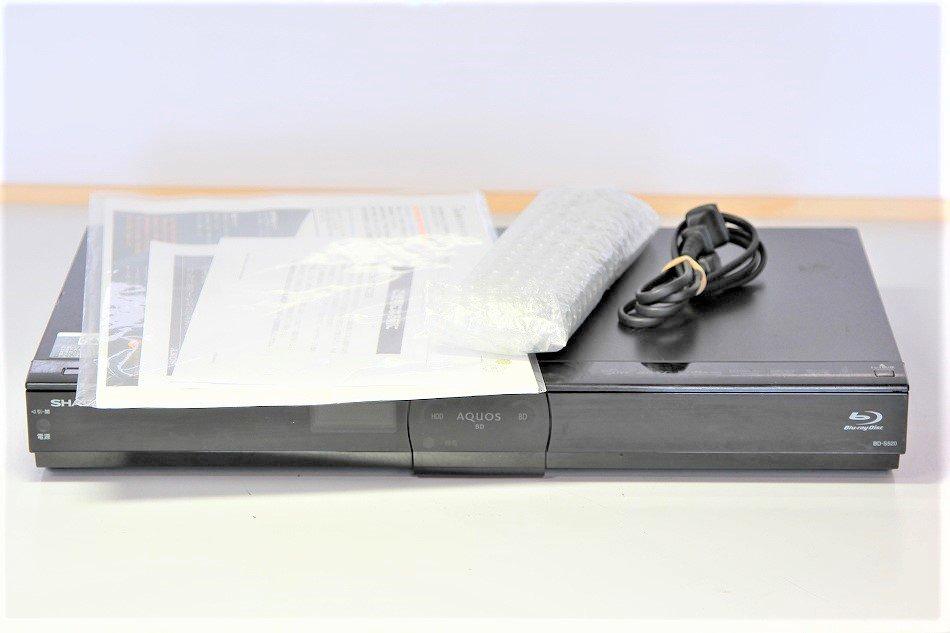 シャープ 500GB 1チューナー ブルーレイレコーダー AQUOS BD-S520【中古品】