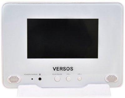 ベルソス 7インチ防水/VRモードCPRM対応ポータブルDVDプレーヤー VS-W707【中古品】