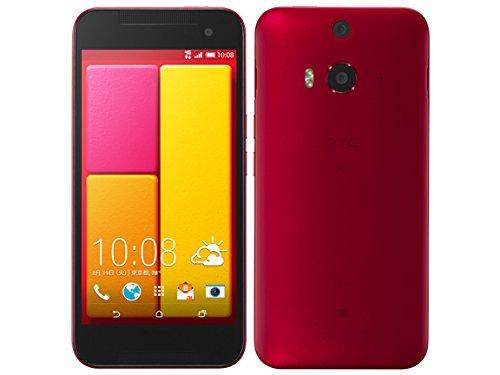 au HTC J butterfly HTL23 Rouge(レッド)【!中古品!】