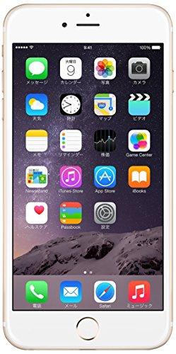 Apple iPhone 6 Plus 64GB ゴールド 【国内版SIMフリー】MGAK2J【!中古品!】