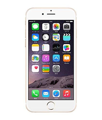 Apple iPhone 6 64GB ゴールド 【softbank 白ロム】MG4J2J【!中古品!】