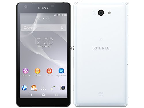 au XPERIA ZL2 エクスペリア SOL25 白色 WHITE【ホワイト】【!中古品!】