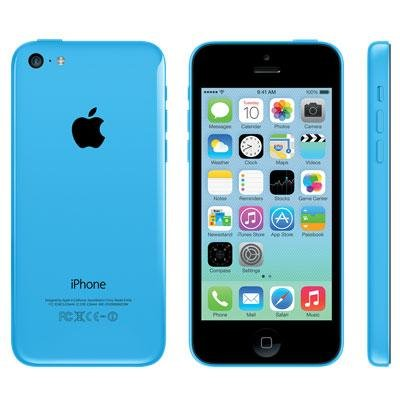Apple SoftBank iPhone5c Blue 16GB (ME543J/A)【!中古品!】