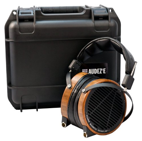 【N】AUDEZE LCD-2 Bamboo with travel case ヘッドホン 平面磁界全面駆動型 AUD-1429【中古品】