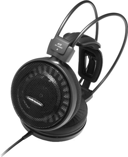 【N】audio-technica エアーダイナミックシリーズ オープン型ヘッドホン ATH-AD500X【中古品】