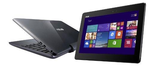 ASUS NB / gray (WIN8.1 32bit / 10.1 inch touch / Z3740 / 2G / 64G / Home&Biz 2013)【中古品】