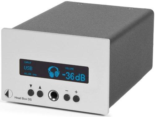 【N】プロジェクト ヘッドフォンアンプ【シルバー】Pro-Ject Audio HEAD BOX DS SLV【中古品】