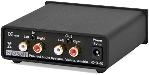 【N】プロジェクト ヘッドフォンアンプ【ブラック】Pro-Ject Audio HEAD BOX S USB BLK【中古品】