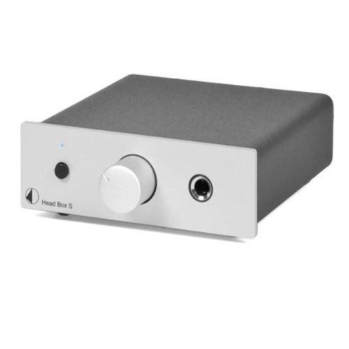 【N】プロジェクト ヘッドフォンアンプ【シルバー】Pro-Ject Audio HEAD BOX S USB SLV【中古品】