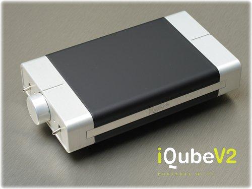 【N】Qables ポータブル・ヘッドフォン・アンプリファイヤー  iQube V2【中古品】