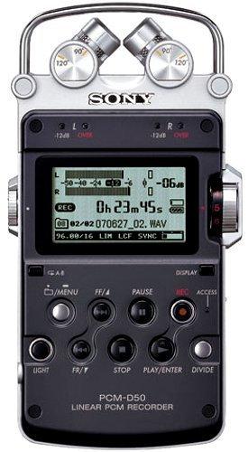【N】SONY リニアPCMレコーダー PCM-D50【中古品】