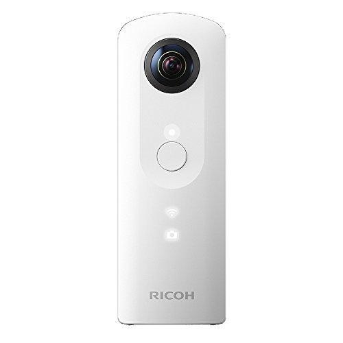 S#【中古】RICOH デジタルカメラ RICOH THETA SC (ホワイト) 360°全天球イメージ撮影デバイス 910740