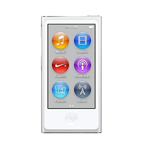 S#【中古】Apple iPod nano 16GB 第7世代 2015年モデル シルバー MKN22J/A