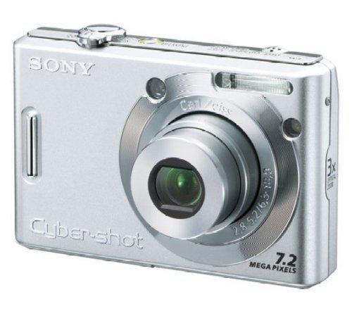 SONY デジタルカメラ Cybershot シルバー DSC-W35【!中古品!】