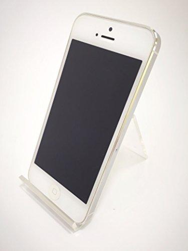S#【中古】iPhone 5 16GB SoftBank [ホワイト&シルバー]
