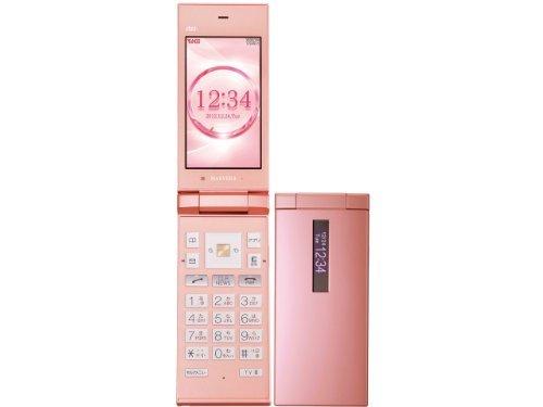 S#【中古】au 京セラ MARVERA KYY08 ピンク