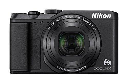 S#【中古】Nikon デジタルカメラ COOLPIX A900 光学35倍ズーム 2029万画素 ブラック A900BK