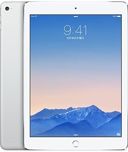 S#【中古】【docomo版】 iPad Air 2 Wi-Fi Cellular 16GB  シルバー  白ロム