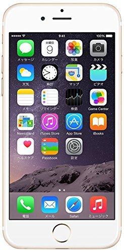 S#【中古】Apple iPhone 6 Plus 64GB ゴールド 【softbank 白ロム】MGAK2J