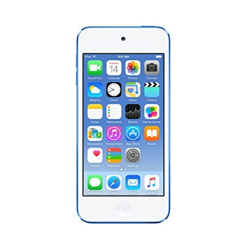 S#【中古】Apple iPod touch 64GB 第6世代 2015年モデル ブルー MKHE2J/A