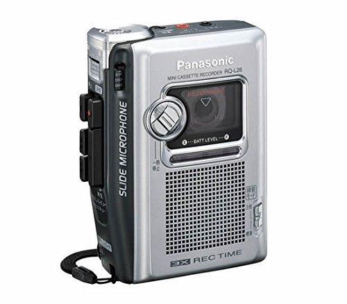 Panasonic ミニカセットレコーダー RQ-L26-S(シルバー) 25時間連続録音 【!中古品!】