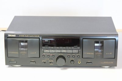 TEAC ティアック W-780R ダブル カセットデッキ【中古品】