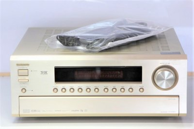 ONKYO AVセンター 170W×7ch HDMI ゴールド TX-SA803(N) 【!中古品!】
