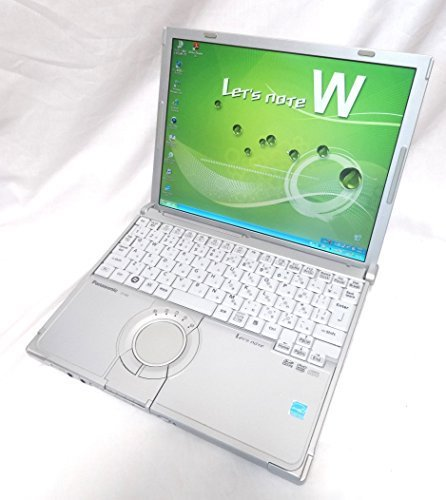 B#【中古】パナソニック Lets note CF-W8 / Windows 7 Core2Duo 2GBメモリ ノート パソコン