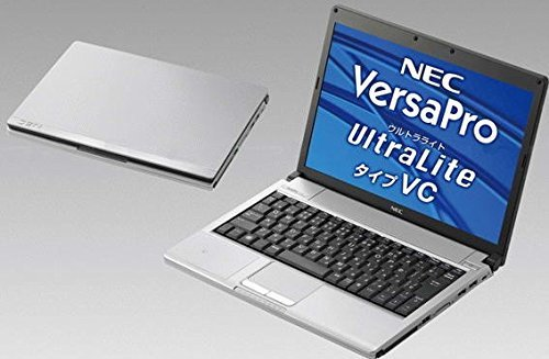 B#【中古】ノートパソコン Windows7 12.1型NEC製VY14 Core2Duo1.4GHz搭載 メモリ2GB HDD80GB 外付けDVDスーパーマ…