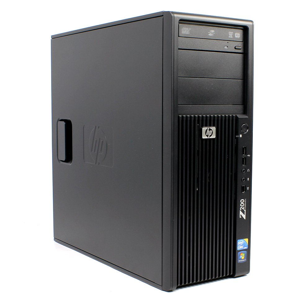 【Microsoft Office2010搭載】【Win 7搭載】HP Z200 WorkStation/最上位Core i5 3.6GHz/メモリ4GB/HDD160GB【中古…