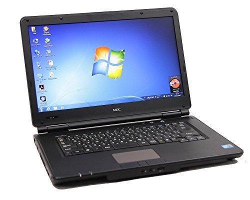 B#【中古】【ノートパソコン】NEC VersaPro VY22GX-A Windows7 15.6インチ Core i3 2.27GHz メモリ4GB HDD160GB■90…
