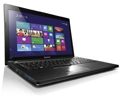 B#【中古】Lenovo G500 (Core i5-3230M/Win8/15.6型/Microsoft Office Home and Business 2013/ブラック) 593707…