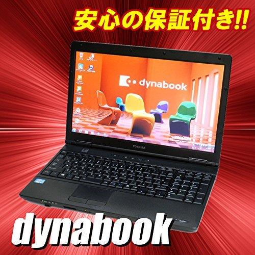 B#【中古】ノートパソコン Windows7-Pro 東芝 dynabook Satellite B552 液晶15.6インチ Core i3