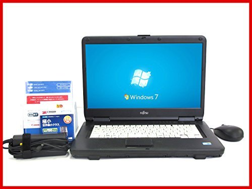 B#【中古】【ESET1年版 Office2013搭載】ノートパソコン Windows7 Pro32bit 15.6型富士通 LIFEBOOK A550 Core i5 520M(2.4GHz…