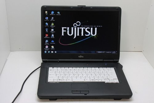 B#【中古】ノートパソコン 【Windows 7 Pro】 富士通 LIFEBOOK A540/A Intel Celeron 900 2.20GHz 2GB 160GB DVDコ…