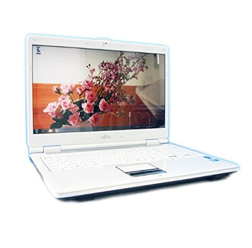 B#【中古】【ノートパソコン】FUJITSU FMV-BIBLO NF/C40/Win7搭載/リカバリCD・OFFICE付き/無線&DVD再生…