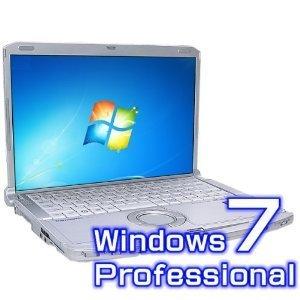 B#【中古】ノートパソコン Panasonic レッツノート CF-F8HWRCDS 【Windows7 Pro・オフィス2007 Pro付き】