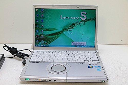 B#【中古】【Win 7 Pro i5 2520M】Panasonic Let's Note CF-S10AWHDS Intel Core i5 2520M 2.50GHz 4GB 320…